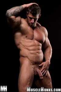 big dick muscle hunk zeb atlas ripped muscle bodybuilder strips naked strokes his hard cock hunks photo manifest men video page