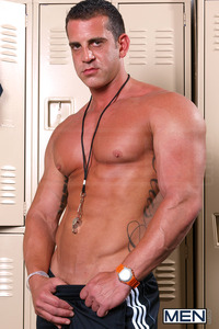 big dicks pics gay men convincing coach devin adams matt cole dicks school gay porn photo