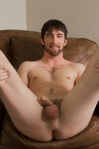 big hairy gay porn hairy chest hunk jeremy stone jerks his cock southern strokes photo