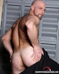 big hairy gay porn hairy muscle body dirk willis strokes huge cock high performance men photo