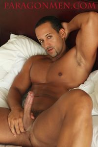 big Latino men media black muscle men