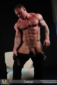 big man gay porn tattooed muscle hunk bodybuilder gay porn legend caesar jacks off his cock manifest men mid nude guy sterling