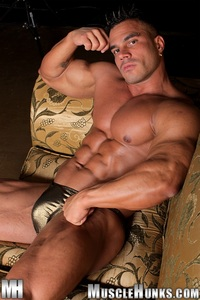 big muscle hunk enzo pileri gallery ripped muscle bodybuilder strips naked strokes his hard cock hunks photo hunk titan