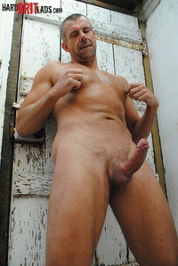 big muscle hunk jack saxon ripped muscle hunk strips naked strokes his hard cock brit lads photo