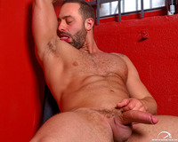 big muscular naked men beefy muscle hunk fabio stallone strips naked jacks off his hard uncut cock high performance men pic