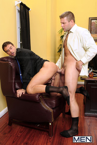 Colby Jansen Porn men gay office touchy boss colby jansen fucks employee rocco reed