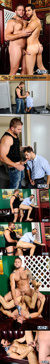 Colby Jansen Porn dean monroe colby jansen hardcore one night only dmh drill hole attachment