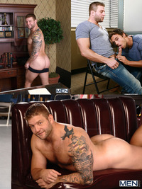 Colby Jansen Porn colby jansen men feb fucks duncan black rocco reed