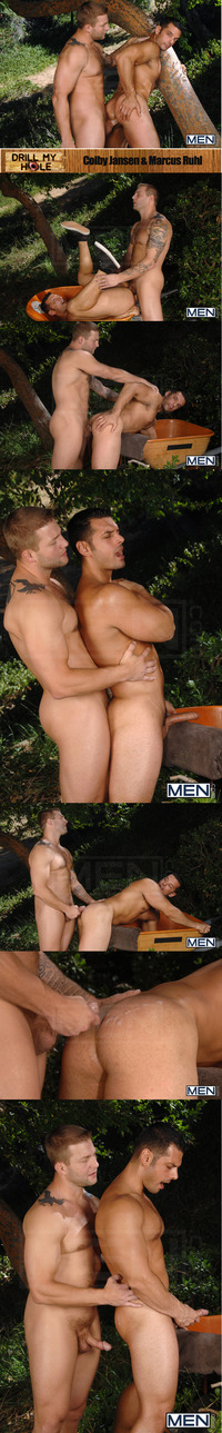 Colby Jansen Porn colby jansen marcus ruhl hunks wood attachment