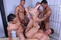 black and white gay porn roccosfantasyjo four black cock rocco reeds white ass