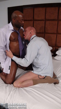 black cock gay porn bareback that hole champ robinson mason garet interracial black cock amateur gay porn corporate executive barebacks his white worker