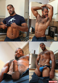 black dudes gay porn black bear roman wright category men