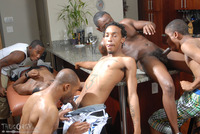 black gay anal sex pictures group thug orgy five gay black boys