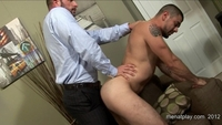 black gay male porn Pics morgan black fucks dominic sol men play white collar suit