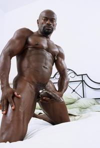 black gay penis porn screen gay cock bound ebony muscled muscle black darell flexing his