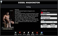 Diesel Washington Porn diesel washington escort profile returns best ever