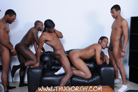 black gay porn thug thug orgy brooklyn bounce intrigue kash wayne young buck black thugs fucking amateur gay porn one lucky player gets bukkake face cum