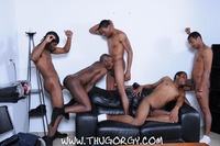 black gay thug porn Pics thug orgy brooklyn bounce intrigue kash wayne young buck black thugs fucking amateur gay porn one lucky player gets bukkake face cum