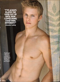 Alexander Ludwig Gay Nude original alexander ludwig shows some abs
