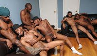 black gay thugs sex Pics category thug orgy best black groupsex