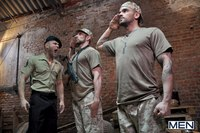 Drill my hole Gay damien crosse scott carter sergeants orders military themed hardcore scene gay porn drill hole