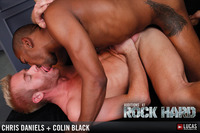 black hard gay porn colin black chris daniels