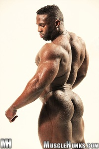 black hunk muscle naked black muscle man aden taylor ripped hunk strips strokes his hard cock hunks photo bodybuilder