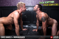 black male gay porn chris daniels morgan black lucas entertainment get piss soaked