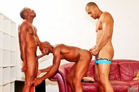 Ebony Gay Porn eyecandy next door ebony triple threat