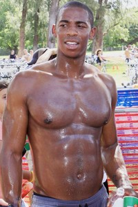 black muscle hunks mehcad brooks shirtless celebrity hunks blood beauty