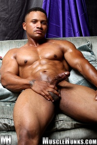 black muscle hunks black muscle stud devon ford shows off his rippling abs ripped bodybuilder strips naked strokes hard cock torrent photo entry