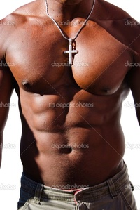 black naked man depositphotos black man torso diamond cross stock photo