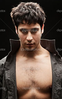 black naked man depositphotos handsome man naked breast stock photo