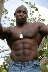 black naked muscle men zeus finest black men