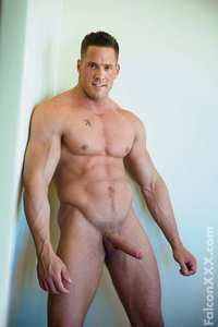 Erik Rhodes Porn magazine hung muscle hunk erik rhodes shows off his uncut cock solo duo group action falconxxx mid