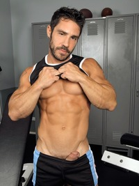 blue porn gay cayden ross derek atlas randyblue gay porn gym locker room sweaty workout partner fantasy fucking sucking muscular bodybuilder tattoos rugged masculine scruffy great personality xxx action huge legs thick cock hot working