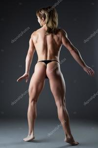 body builder naked depositphotos stock photo heavy body builder woman posing