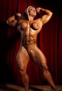 body builder naked lisa sexiest bodybuilders world