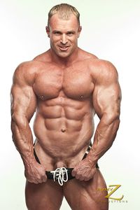 body builder naked smooth hard bodybuilder con demetriou aka king strips naked flexes his muscle hunk body jimmy productions pic