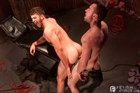 bondage gay porn jimmy fanz tristan phoenix fetish force tickling bondage gay porn tickled fucked