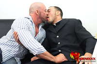 buck angel gay sex caseywilliams kirkcummings twink turned priest kirk cummings fucks married man leather sofa church