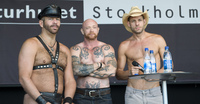 buck angel gay sex porn star talk stockholm pride buck angel michael brandon scott spears personal unstraight stuff english