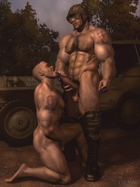gay 3d porn gay pics passionate army cuming