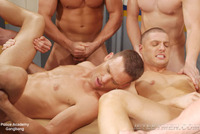 gay action pics jetsetmen gangbang gay action police academy
