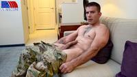 gay army porn all american heroes amry soldier jerking his uncut cock amateur gay porn straight army specialist stroking