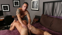 gay bareback daddy porn spiro fucks theon bareback scene gay porn chaos men total dilf theons hairy hole isnt half bad either