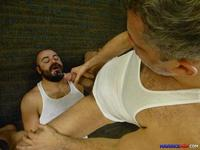 gay bareback daddy porn maverick men grumpy hairy bear gets fucked daddy cocks amateur gay porn category cock