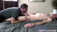 gay bareback daddy porn seth chase daddy taking bareback load from younger guy his ass kyle amateur gay porn takes ever young stud