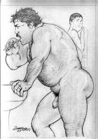 gay bears sex Pics bruno bara gay erotic art drawn