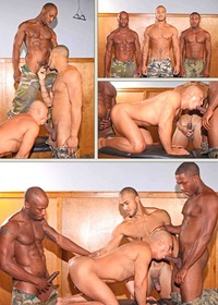 gay black man porn richards kiern duecan race cooper rob lee hot gay black military porn
